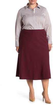 Lafayette 148 New York Johanna Midi Skirt (Plus Size)