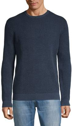 AG Jeans Textured Cotton Sweater