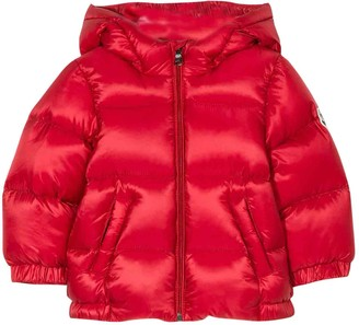 Moncler Red Lightweight Jacket New Macaire