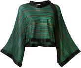 Sonia Rykiel flared sleeve blouse - women - Silk/Viscose - S