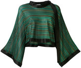 Sonia Rykiel flared sleeve blouse - women - Viscose/Silk - S