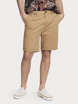Scotch & Soda Pima Cotton Chino Shorts   Men