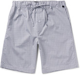 Hanro - Checked Cotton Pyjama Shorts