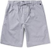 Hanro - Night And Day Checked Cotton Pyjama Shorts