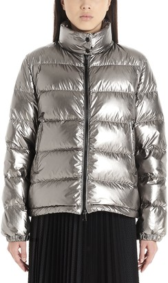 Moncler Metallic Effect Down Jacket
