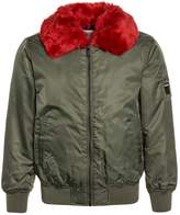 Replay Winter jacket army green