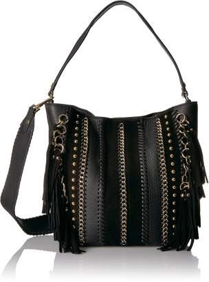 Calvin Klein Lynn Pebble & Suede Hobo Hobo Bag