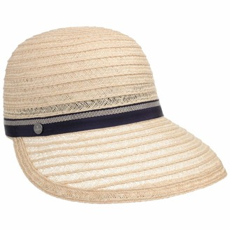 Lierys Lilietta Hemp Visor by Women - Made in Italy Summer Cap Straw Closed Back