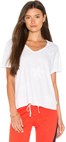 Sundry Star Applique Boxy Tee in White. - size 0 / XS (also in 1 / S,3 / L)