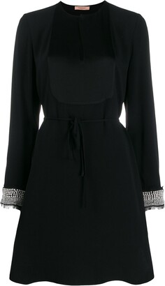 Twin-Set embellished shift dress