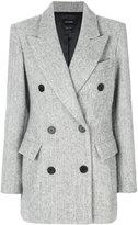 Isabel Marant Eley coat - women - Cotton/Viscose/Alpaca/Virgin Wool - 36