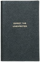 Smythson 'Expect the Unexpected' Panama notebook