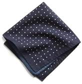Todd Snyder Italian Cotton Polka Dot Pocket Square