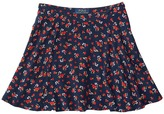 Polo Ralph Lauren Cotton Flounce Skirt (Big Kids)