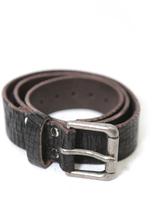Brave Leather Ltd. Baxter Leather Belt in Black