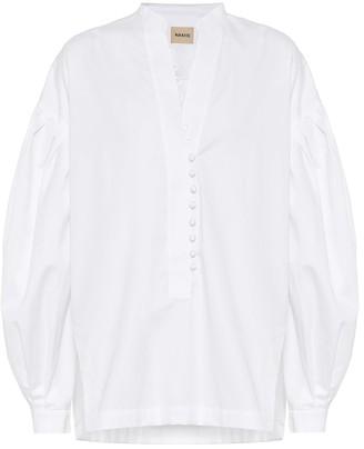 KHAITE Palma cotton poplin shirt
