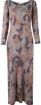 Cecilia Prado round neck knit dress - women - Acrylic/Polyamide/Viscose - P