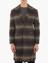Casely-Hayford Checked Wool Chesterfield Coat