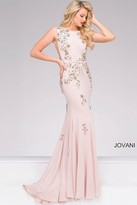 Jovani Jersey Embellished Prom Dress 42296