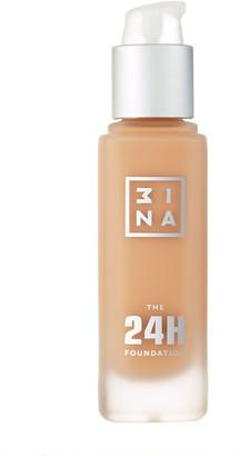 3INA The 24H Foundation 30Ml 639 Dark Beige