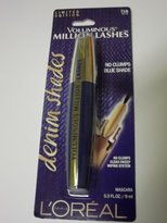 L'Oreal NEW Limited Edition Voluminous Million Lashes Denim Shades Mascara - 718 Blue