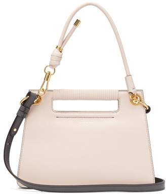 Givenchy The Whip Small Cut-out Leather Cross-body Bag - Womens - Light Pink