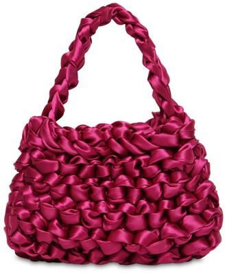 Miista Theodore Mini Knotted Satin Bag
