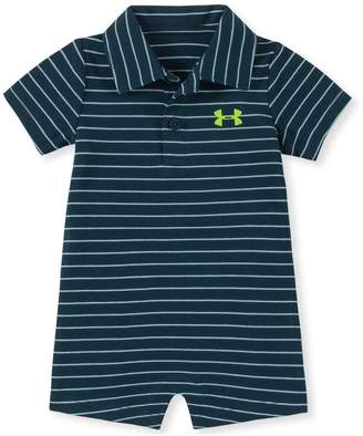 Under Armour Boys' Newborn UA Stripe Polo Coverall