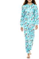 Disney Characters Long-Sleeve One-Piece Hooded Pajamas