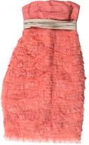 Marc Jacobs Silk Ruffled Dress
