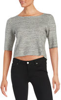 Ivanka Trump Marled Crop Top