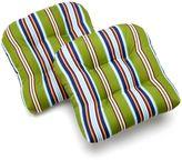 Edie Inc. Classic Stripe Indoor Outdoor 2-pk. Contour Chair Pads