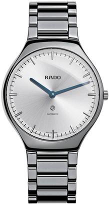 Rado Men's True Thin Automatic Bracelet Watch, 40mm