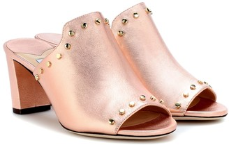 Jimmy Choo Myla open-toe leather mules