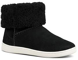 UGG Women's Mika Classic Suede Slip On Sneakers