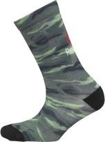 Reebok One Series Training Printed Camo Crew Socks Camo Green