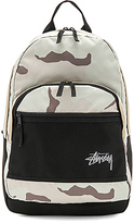 Stussy Stock Desert Camo Backpack in Sage.