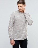 Esprit Crew Neck Slubby Sweater
