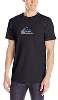 Quiksilver Men's Everyday Logo Short Sleeve Tee Shirt