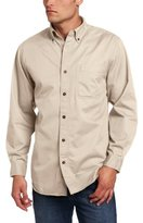 Carhartt Men's Hines Solid Long-Sleeve Shirt Long-Sleeve Button-Front Twill