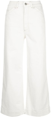 AG Jeans Rosie high-rise wide-leg jeans