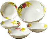 JCPenney Tabletops Unlimited Pasta 5-pc. Porcelain Pasta Bowl Set