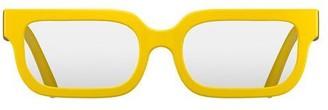 Newgate Icy Readers Matte Yellow 2