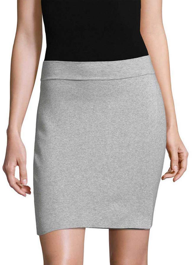 b2a35c3209 Heather Gray Pencil Skirt - ShopStyle