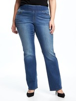 Old Navy Smooth & Comfort Plus-Size Boot-Cut Jeans