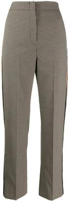 Sandro Paris checked trousers
