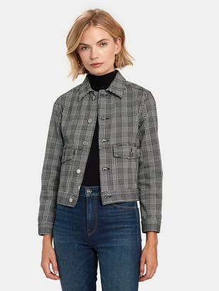 AG Jeans Evonne Workwear Crop Jacket