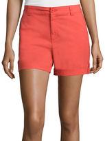 Liz Claiborne Roll-Cuff Cargo Shorts
