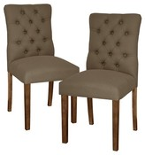 Threshold Brookline Tufted Dining Chair