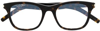 Saint Laurent Eyewear SL 286 Slim square-frame glasses